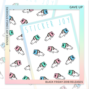 STICKER JOY | Gave Up
