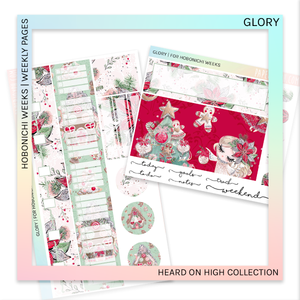 HOBONICHI WEEKS | WEEKLY PAGES | Glory