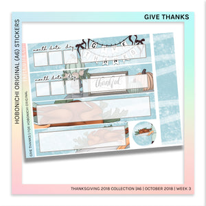 HOBONICHI ORIGINAL (A6) | Give Thanks