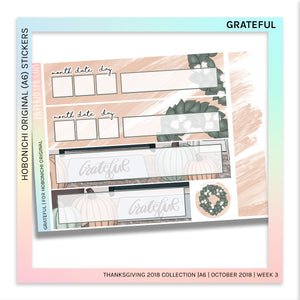 HOBONICHI ORIGINAL (A6) | Grateful