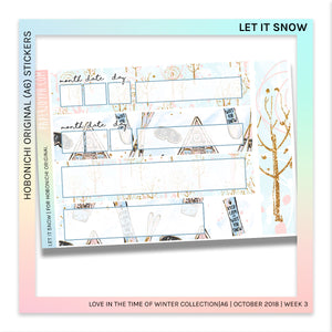 HOBONICHI ORIGINAL (A6) | Let it Snow
