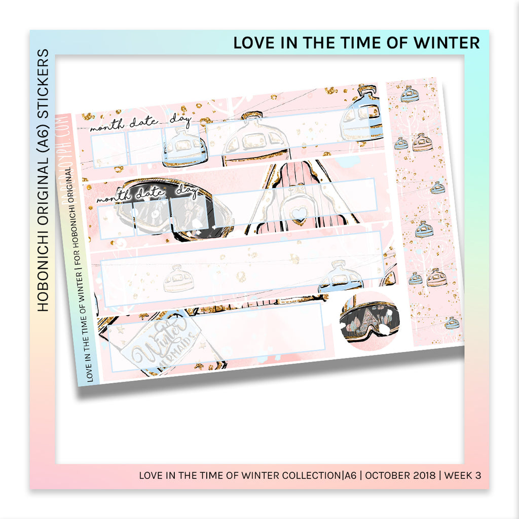 HOBONICHI ORIGINAL (A6) | Love in the Time of Winter