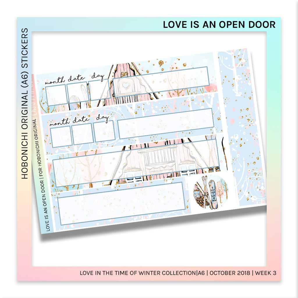 HOBONICHI ORIGINAL (A6) | Love is an Open Door