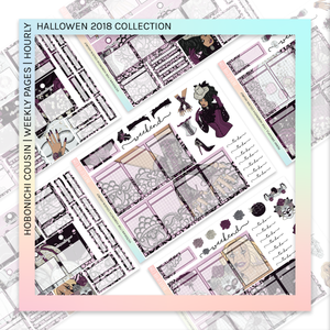 HOBONICHI COUSIN | HOURLY STICKER KIT | Victorian