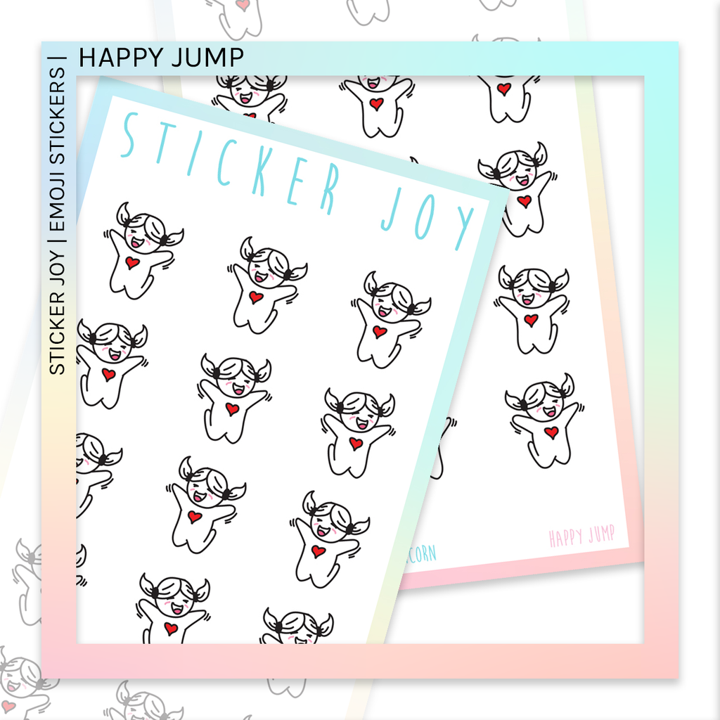 STICKER JOY | Happy Jump