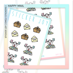 STICKER JOY | Happy Mail