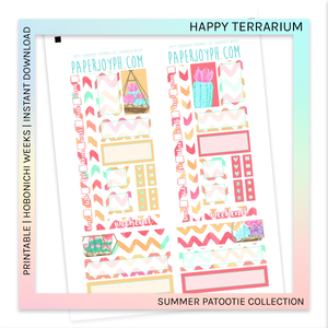 PRINTABLE | HOBONICHI WEEKS | Happy Terrarium