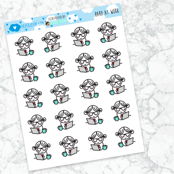 Joy Stickers | HARD AT WORK