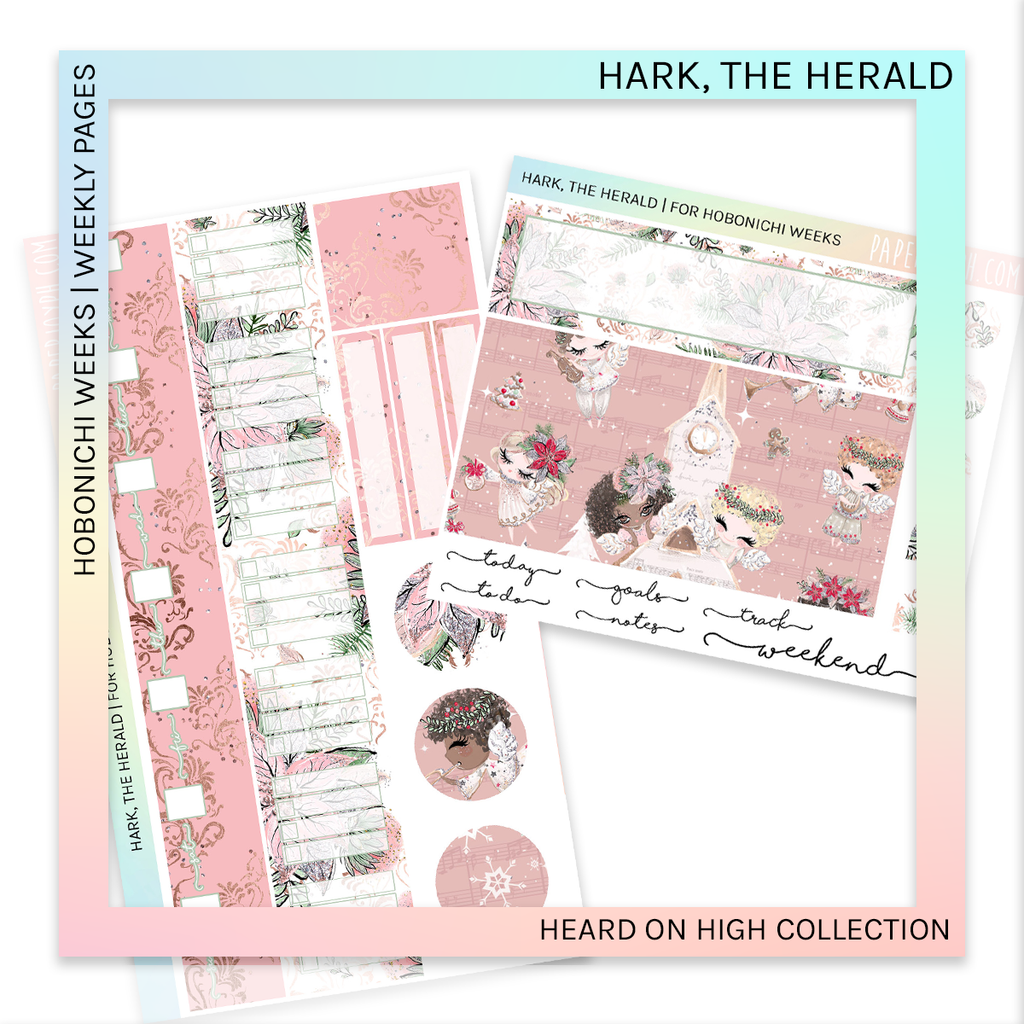 HOBONICHI WEEKS | WEEKLY PAGES | Hark, The Herald