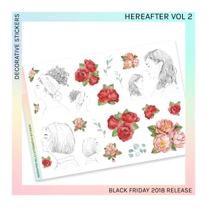 DECORATIVE SHEET | Hereafter Vol 2