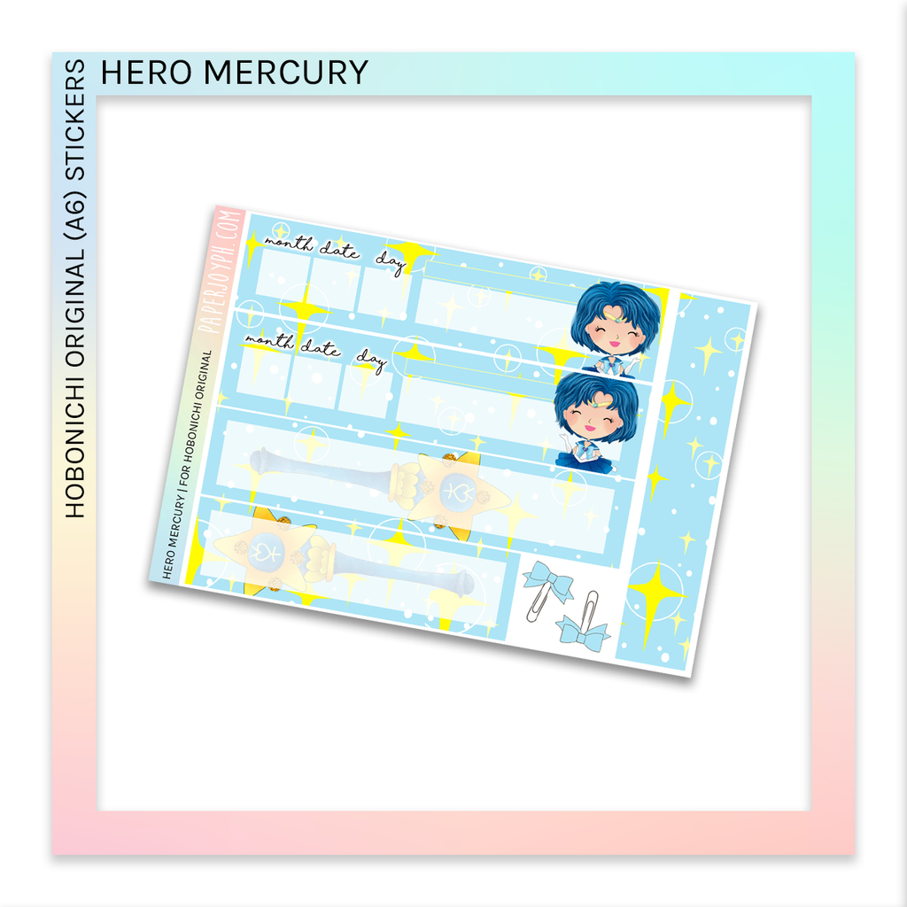 HOBONICHI ORIGINAL (A6) | Hero Mercury