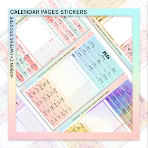 HOBONICHI WEEKS | CALENDAR PAGES | Oh My Holo