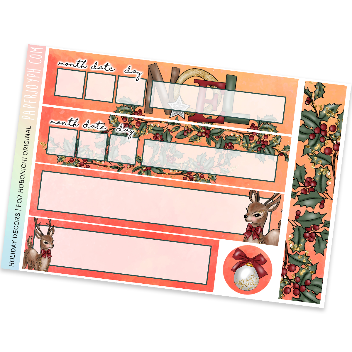 HOBONICHI ORIGINAL (A6) | Holiday Decors