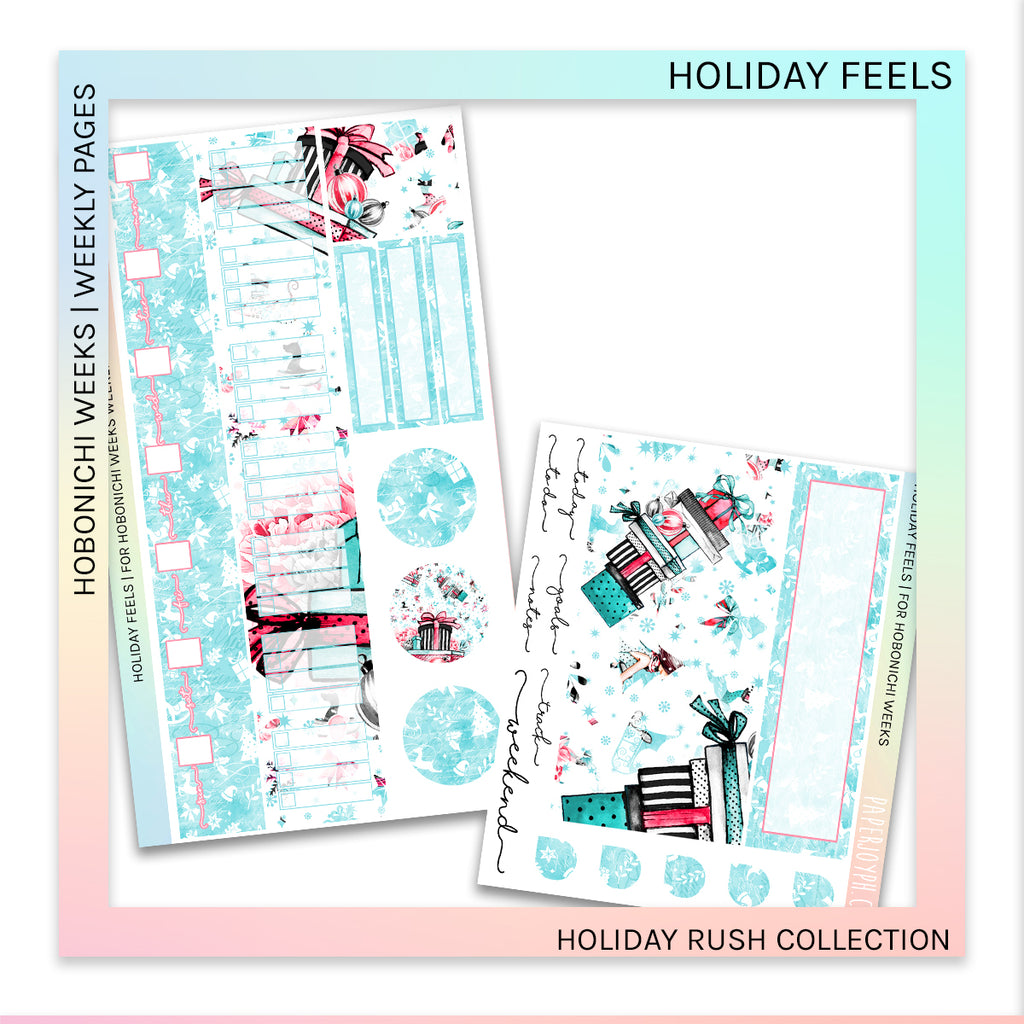 HOBONICHI WEEKS | WEEKLY PAGES | Holiday Feels