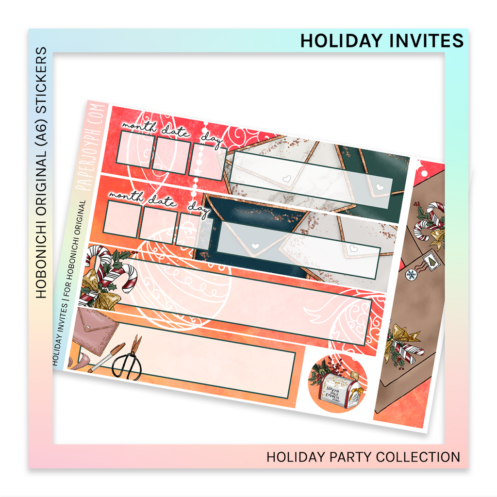 HOBONICHI ORIGINAL (A6) | Holiday Invites