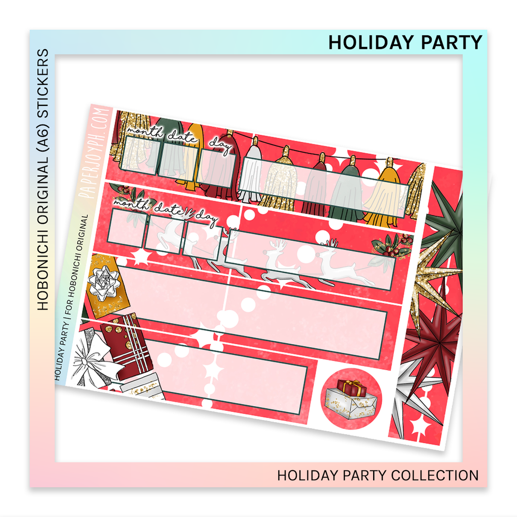 HOBONICHI ORIGINAL (A6) | Holiday Party