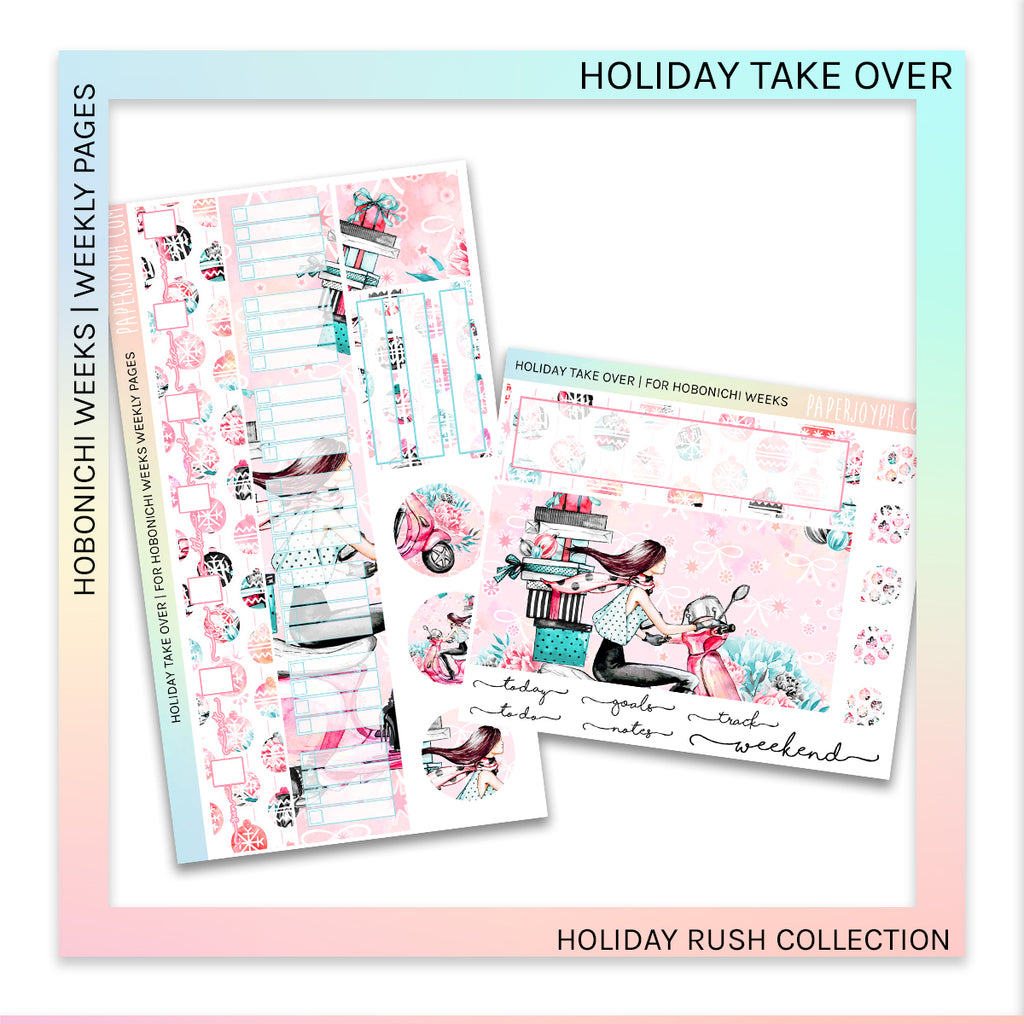 HOBONICHI WEEKS | WEEKLY PAGES | Holiday Take Over