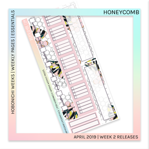 HOBONICHI WEEKS | ESSENTIALS | Honeycomb