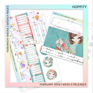 HOBONICHI WEEKS | WEEKLY PAGES | Hoppity