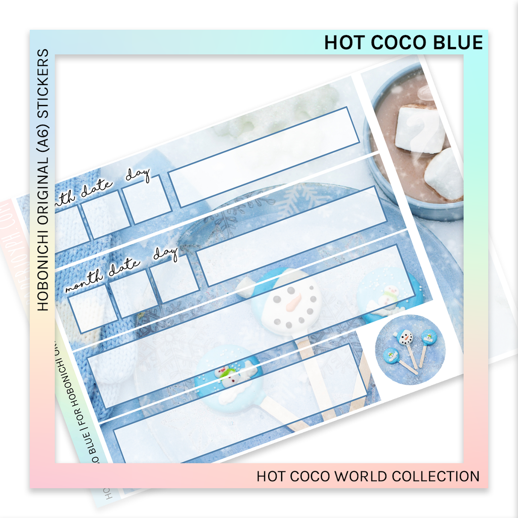 HOBONICHI ORIGINAL (A6) | Hot Coco Blue