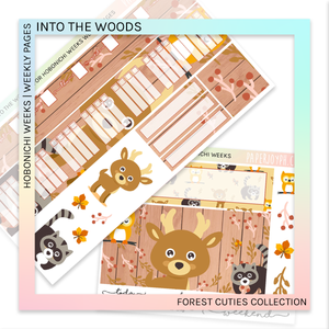 HOBONICHI WEEKS | WEEKLY PAGES | INTO THE WOODS