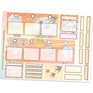 HOBONICHI COUSIN | HOURLY STICKER KIT | Isn't Spring Lovely