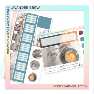 HOBONICHI WEEKS | WEEKLY PAGES | Lavander Brew