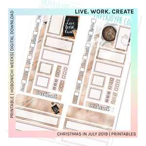 PRINTABLE | HOBONICHI WEEKS | LIVE. WORK. CREATE.