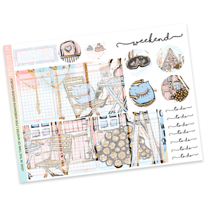 HOBONICHI COUSIN | HOURLY STICKER KIT | Love in the time of Winter