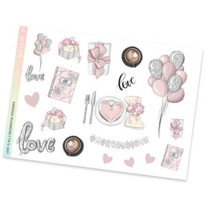DECORATIVE SHEET | Love is All