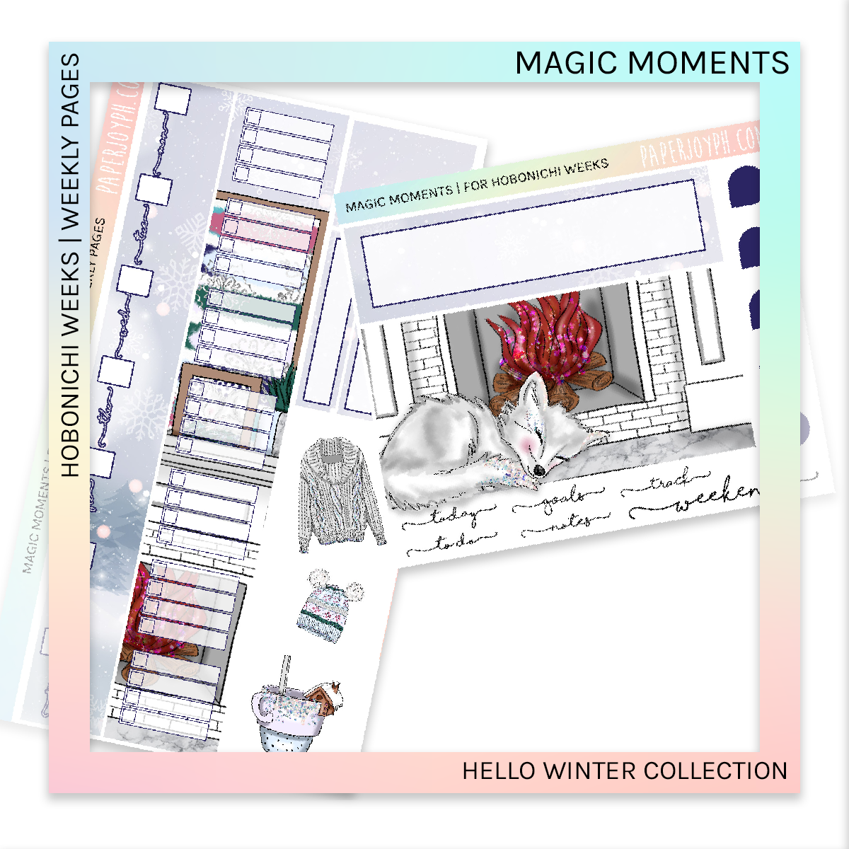HOBONICHI WEEKS | WEEKLY PAGES | Magic Moments