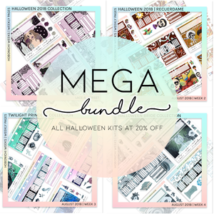HOBONICHI WEEKS | WEEKLY PAGES | HALLOWEEN 2018 MEGA BUNDLE