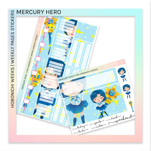 HOBONICHI WEEKS | WEEKLY PAGES | Mercury Hero