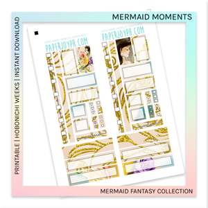 PRINTABLE | HOBONICHI WEEKS | Mermaid Moments
