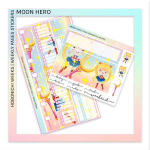 HOBONICHI WEEKS | WEEKLY PAGES | Moon Hero