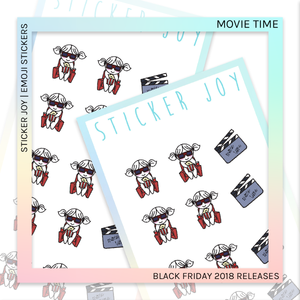 STICKER JOY | Movie Time
