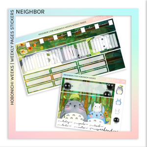 HOBONICHI WEEKS | WEEKLY PAGES | NEIGHBOR