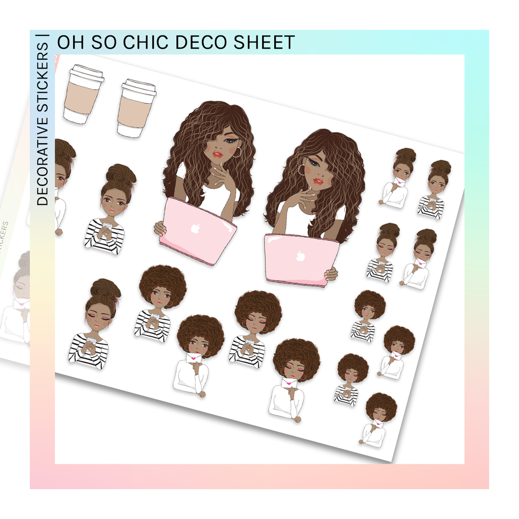 DECORATIVE SHEET | Oh So Chic
