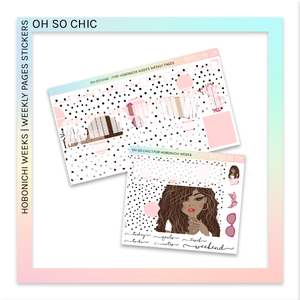 HOBONICHI WEEKS | WEEKLY PAGES | Oh So Chic
