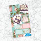 Personal Planner Vertical  Sticker Kit | PAGES AND PETALS