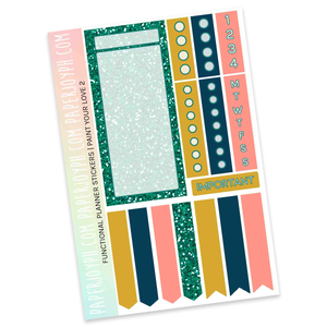 FUNCTIONAL STICKER KITS | Paint Your Love