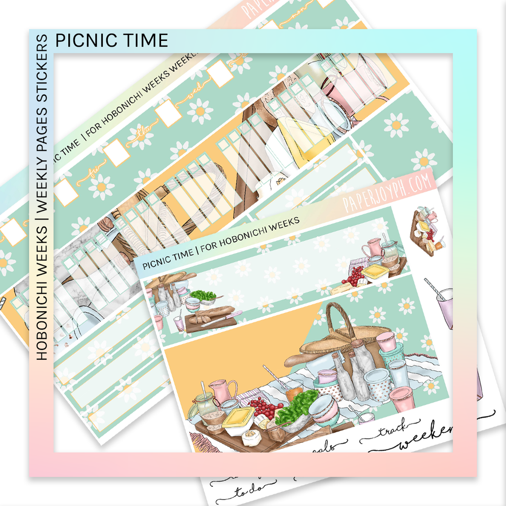 HOBONICHI WEEKS | WEEKLY PAGES | Picnic Time