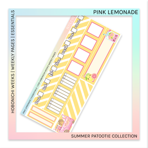 HOBONICHI WEEKS | ESSENTIALS | Pink Lemonade