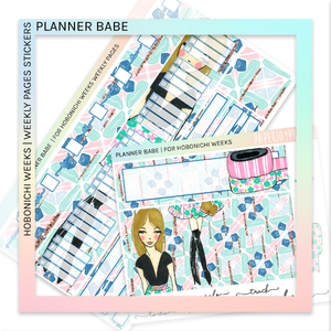 HOBONICHI WEEKS | WEEKLY PAGES | Planner Babe