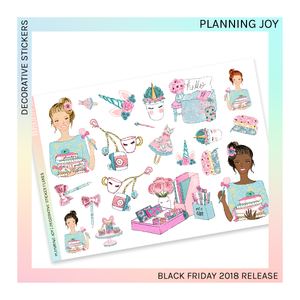 DECORATIVE SHEET | Planning Joy