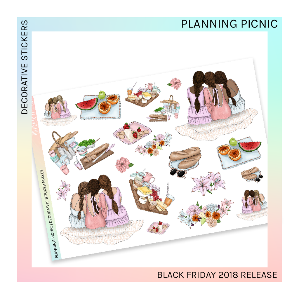 DECORATIVE SHEET | Planning Picnic