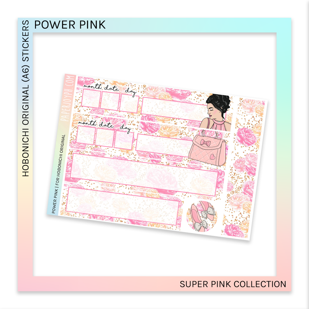 HOBONICHI ORIGINAL (A6) | Power Pink