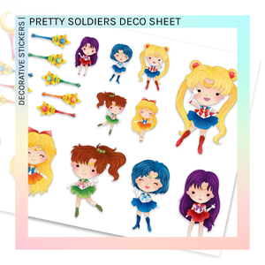 DECORATIVE SHEET | Pretty Soldiers