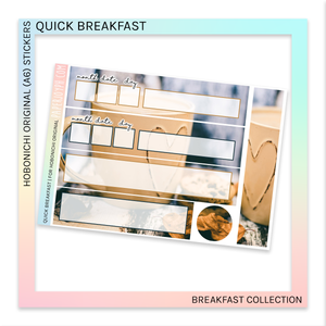 HOBONICHI ORIGINAL (A6) | Quick Breakfast