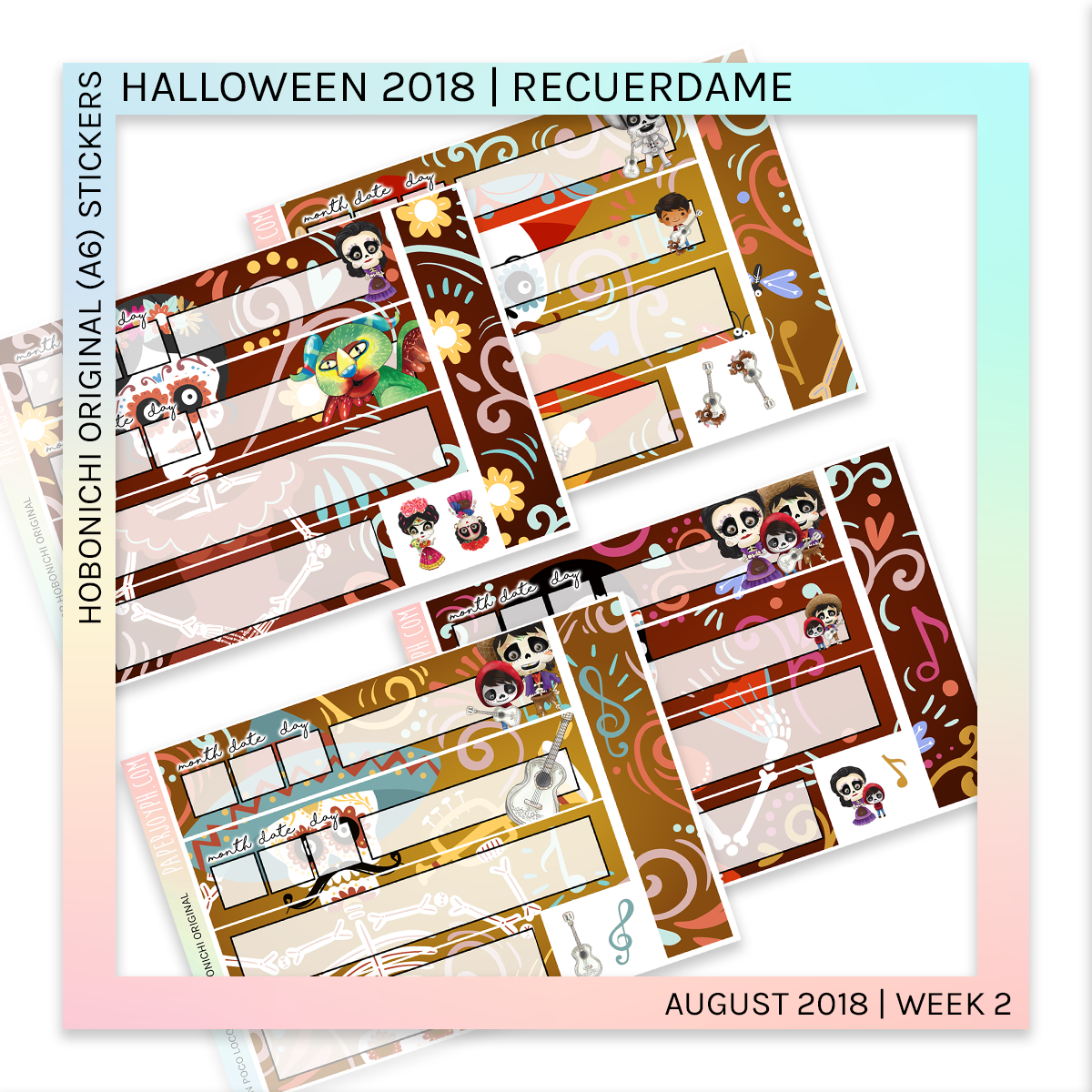 HOBONICHI ORIGINAL (A6) | Halloween 2018 Mega Bundle